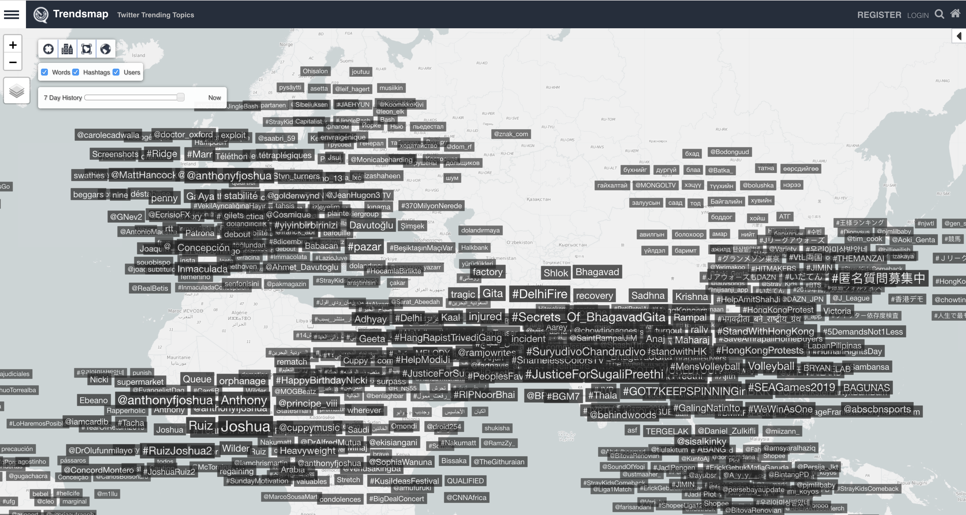 Trends Maps Nedir?